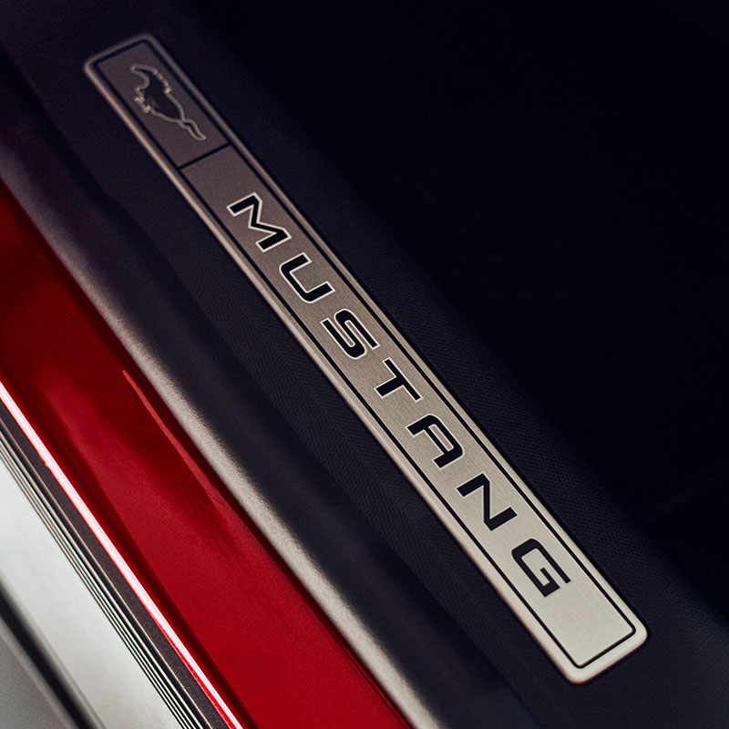 ford mustang mach-e emblem