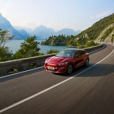 ford mustang mach-e frontansicht