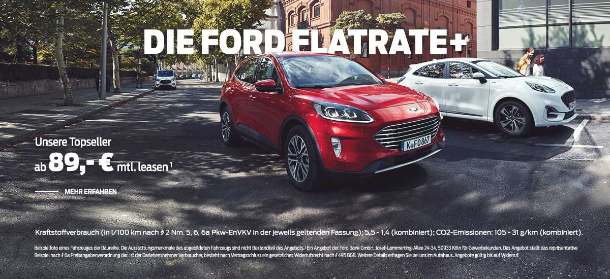 ford flatrate plus leasing deal